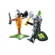 PLAYMOBIL Lion with Knight Training Dummy