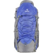 Hot Shot Waterproof Hiking Trekking Bag Camping Rucksack - 85 L(Black, Grey)