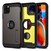 Spigen Tough Armor case bescherming iPhone 11 Pro hoesje - grijs