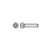 Şurub M5x14 oţel zincat Cap: cap rotund pt.cheie inbus SI5X14
