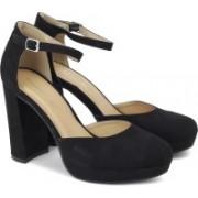 Steve Madden Women BLACK FABRIC Heels