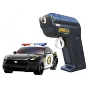 Max Traxxx R/C Tracer Racers High Speed Remote Control Mustang Police Car - Channel A