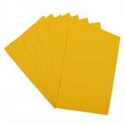 Asian Hobby Crafts A4 Felt Sheet for Craft Projects, Lemon Yellow (Pack of 10)