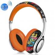 Bluedio A2 Twistable Wireless Bluetooth 4.2 muziek hoofdtelefoon stereoheadset met microfoon voor iPhone Samsung Huawei Xiaomi HTC en andere Smartphones alle Audio Devices(Orange)