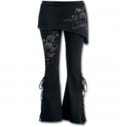 kalhoty dámské (legíny se sukní) SPIRAL - FATAL ATTRACTION - D061G459