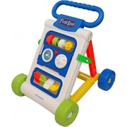 BlackFumes My First Step Baby Activity Walker Push and Pull Toy Toddler Learning Toys for 9 Months -1.5 Year Old