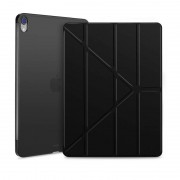 Apple Horizontal Flip Ultra-thin Magnetic PU Leather Case for iPad Pro 11 inch (2018) with Sleep / Wake-up Function(Black)