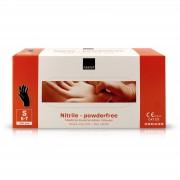 Abena - Nitril Handschoenen - Zwart - Poedervrij - 200 Stuks