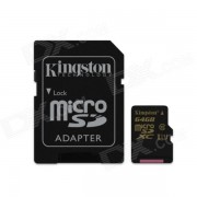 Kingston Digital SDCA10 / tarjeta de memoria Flash de 64 GB con adaptador