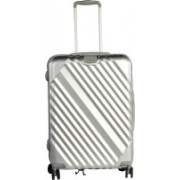 Sprint Spinner 4 Wheel Trolley Case Check-in Luggage - 24 inch(Silver)