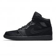 Shoes Nike Air Jordan 1 Mid Black/Black/Dark Grey