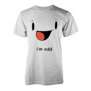 I'm Odd T-Shirt - White - XXL - White