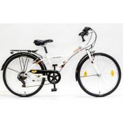 Schwinn Csepel Mustang 24 gyermek kerékpár Fehér