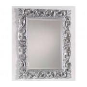 Art.314 Specchiera rettangolare argento
