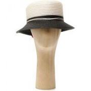 KMATT32 Cappello con pon pon BIANCO NERO ROSSO