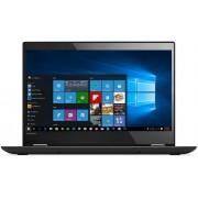 "Laptop 2in1 Lenovo Yoga 520 (Procesor Intel® Core™ i7-7500U (4M Cache, up to 3.50 GHz), Kaby Lake, 14""FHD IPS, Touch, 8GB, 1TB HDD @5400RPM, Intel® HD Graphics 620, Wireless AC, Tastatura iluminata, Win10 Home 64, Negru)"