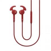 Samsung Auricolare EO-EG920BRE In-Ear Fit Originale Cavo 120 cm Rosso per Galaxy Note S4 S5 S6 S7 S8 Note Serie A e J
