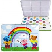 Vilac Melusine's Baby Shape and Color Recognition Toy Tin Large