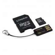 Kingston MicroSDHC Class 10 med minneskortläsare, 32GB