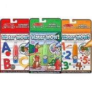 Melissa & Doug On the Go Water Wow! Activity Book 3-Pack - Animals Alphabet and Numbers