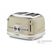 Prajitor paine Ariete 156.BG Vintage 4 felii, bej