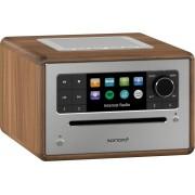 sonoro ELITE Audiosystem mit WLAN-Radio - walnuss - 14x25,7x21 cm
