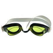 Malmsten TG edző úszószemüveg sárga, állítható orrnyereggel