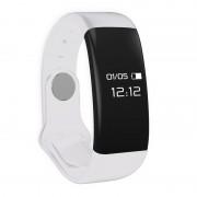 Quazar sport-fitness okosóra aktivitásmérővel, híváskijelzővel, fehér