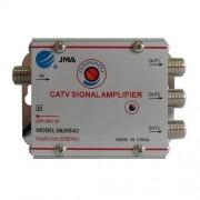 Amplificator semnal TV cu 3 iesiri, alimentare 220V
