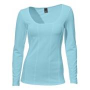 NU 15% KORTING: Shirt met carréhals, lange mouwen