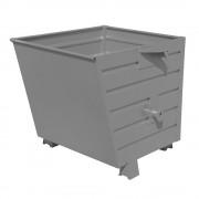 Stapel-Kippbehälter Volumen 0,55 m³ grau RAL 7005