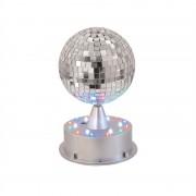 Eurolite Светодиодна огледална сфера, 13 см, осветена стойка, LED (42109269)