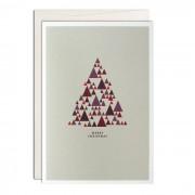 Christmas Triangles Grußkarte A6 Haferkorn & Sauerbrey