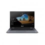 Asus Portatil Asus Vivobook Flip 14 Tp412fa-Ec015t Gris