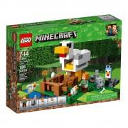Lego set de construcción lego minecraft el gallinero 21140