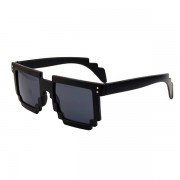 Svarta solglasögon i pixeldesign