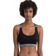 Calvin Klein Bustieră sport Bralette QF4053E-001 Black S