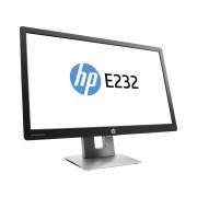 Refurbished-Very good-23-inch HP EliteDisplay E232 1920 x 1080 LCD Monitor Black/Silver