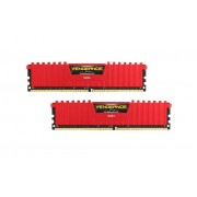 Memorie Corsair Vengeance LPX 16GB DDR4 2400 MHz CL14 Dual Channel Kit , Red