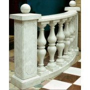 Balustri H 90cm Marmura OryxCrem Lustruit 15x15x90 cm