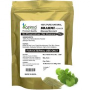KAZIMA Premium Quality Brahmi Powder (100g) - 100% Pure Herbal & Fresh - Hair Loss Scalp Nourishment Fair Skin Stress Reduction Reduces Wrinkles