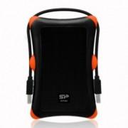 "1TB Silicon Power Armor A30, черен, външен, 2.5""(6.35 cm), удароустойчив, USB3.0, 3г. гаранция"