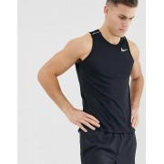 Nike Running miler vest in black
