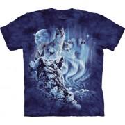 Spiru T-Shirt Mountain Artwear Find 10 Wolves L