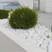 Pebble Marmura Alba Thassos 1-2 cm KG