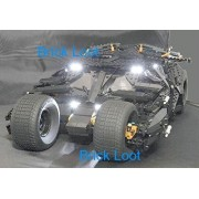 Batman Tumbler Light Kit for LEGO 76023 (Lego set not included) by Brick Loot