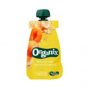 Organix Babymos havre, abrikos banan Ø fra 6 mdr. - 100 G