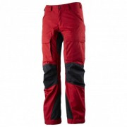 Lundhags - Women's Authentic Pant - Pantalon de trekking taille 36 - Regular, rouge/noir