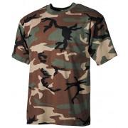 Koszulka dziecięca wojskowa woodland dla dziecka
