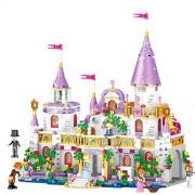 Generic 73 Block Princess Windsor's Castle DIY Model Building Blocks Birthday Christmas Gifts for Girls Childhood Accompany